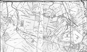 Haddon Heights Map-1877-Tracts by Name