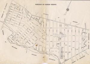 Haddon Heights Map-1950s1