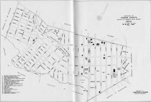 Haddon Heights Map-1954