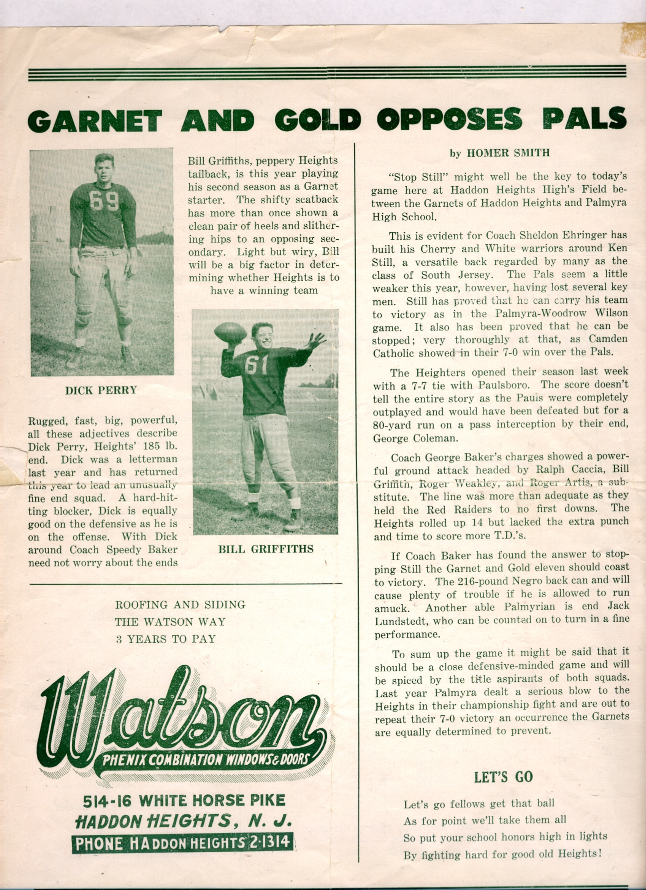 Football – Haddon Heights Historical Society