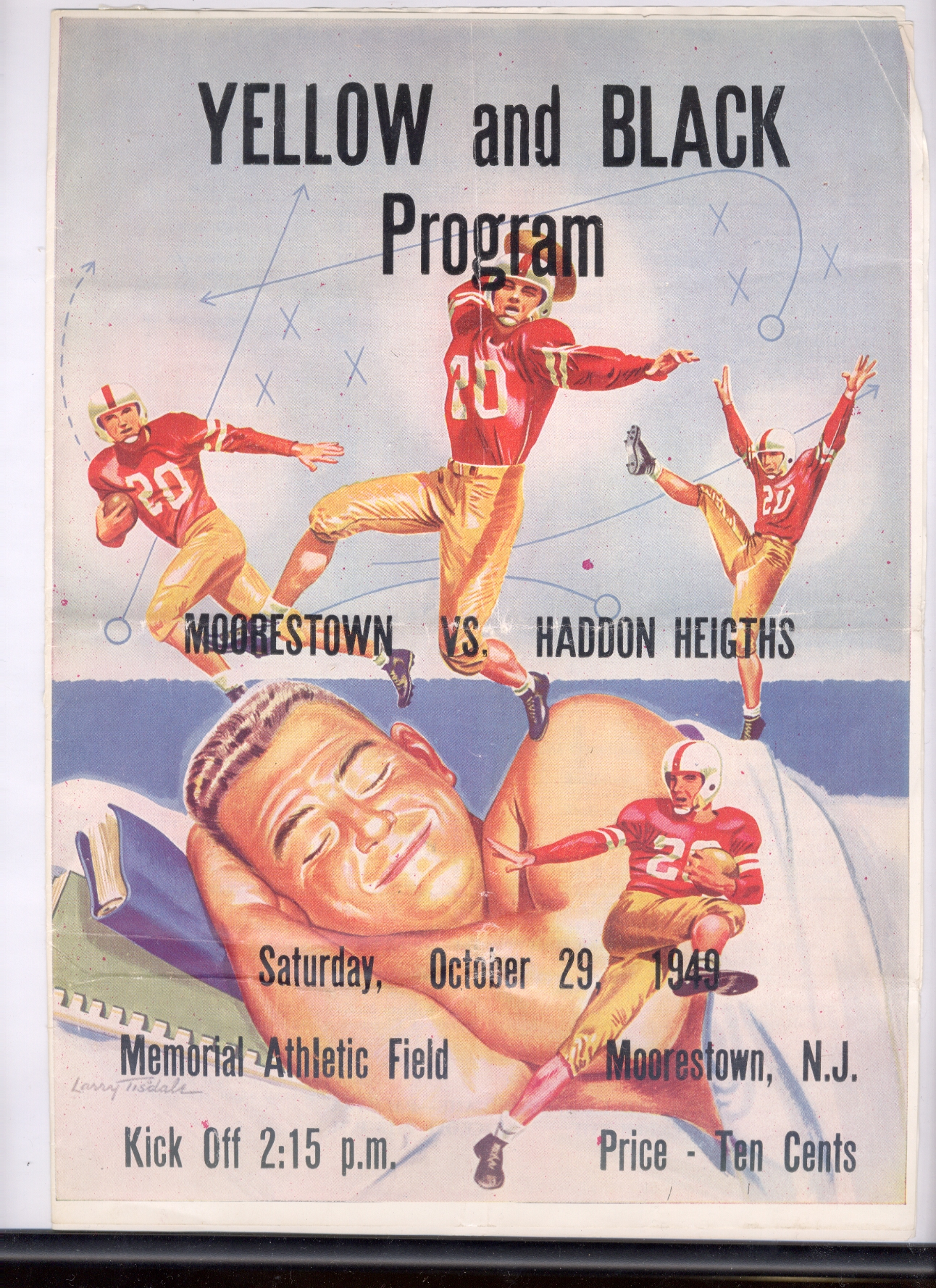 footballprogram-1949-10-29
