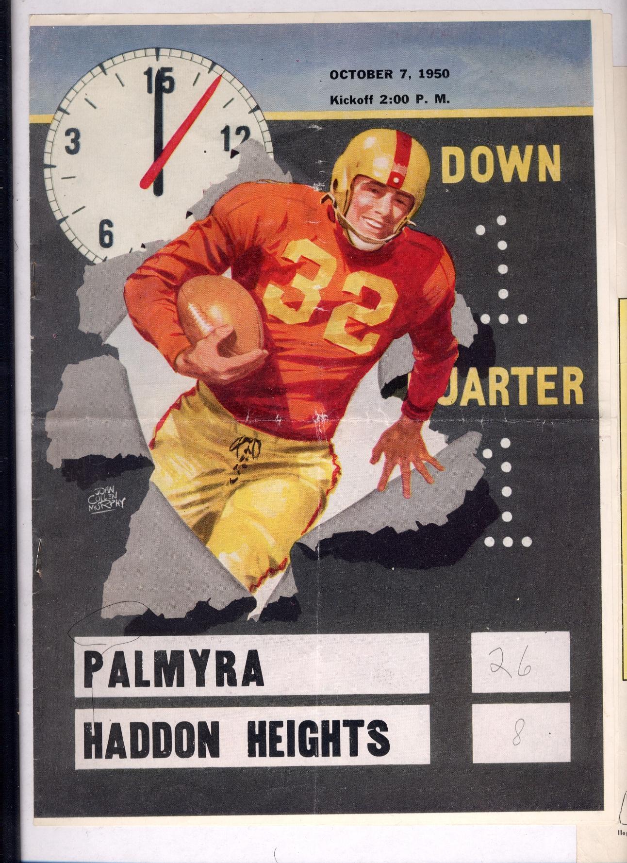 footballprogram-1950-10-07