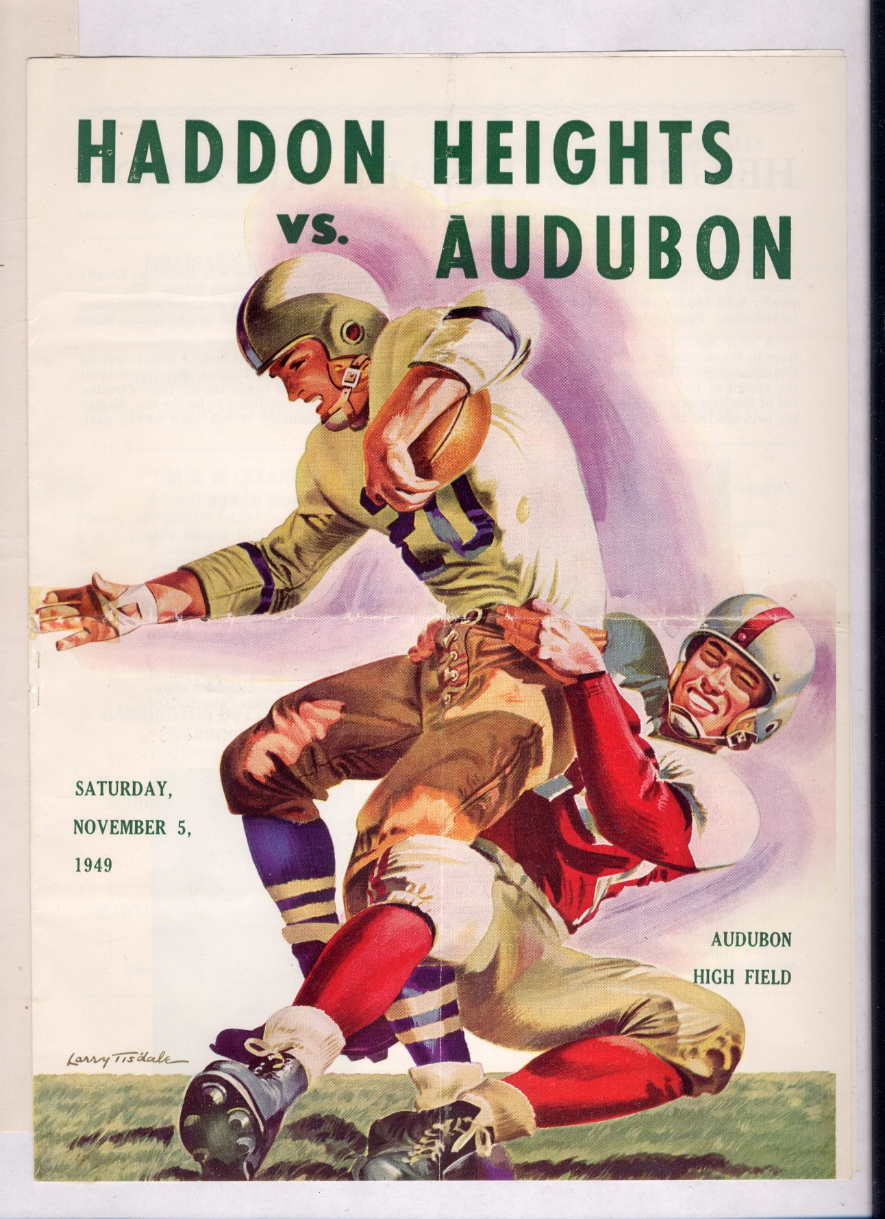 footballprogram-1949-11-05